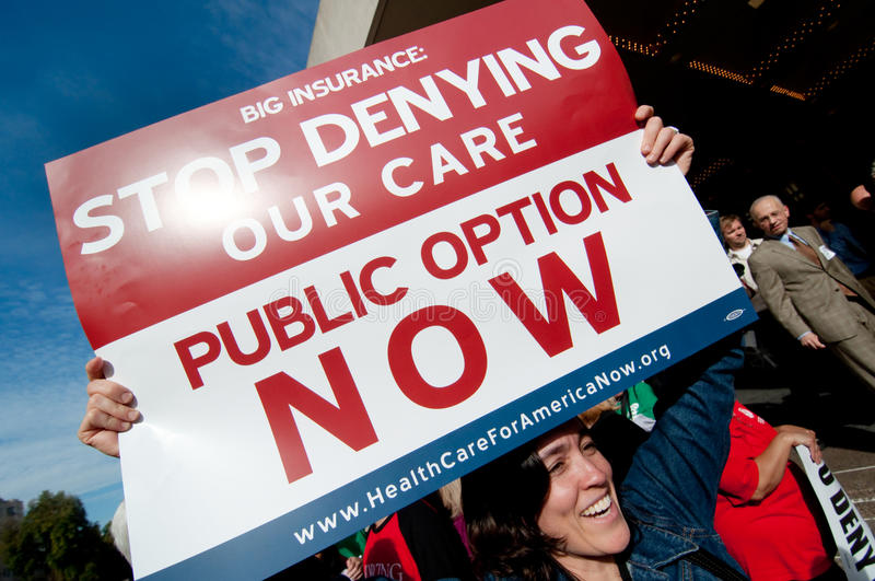 Protestation de soins de santé
