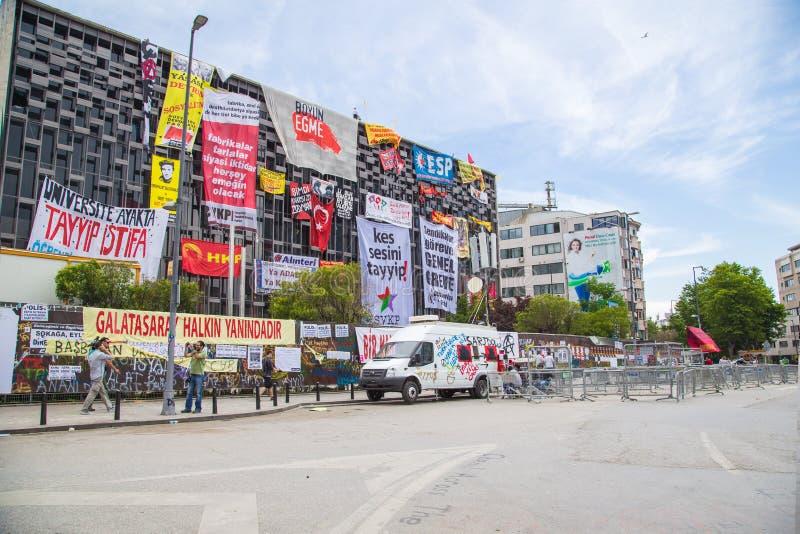 Proteste civili in Turchia fotografie stock libere da diritti