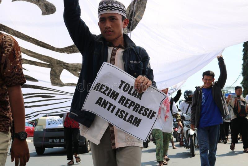 protester royalty-vrije stock afbeeldingen