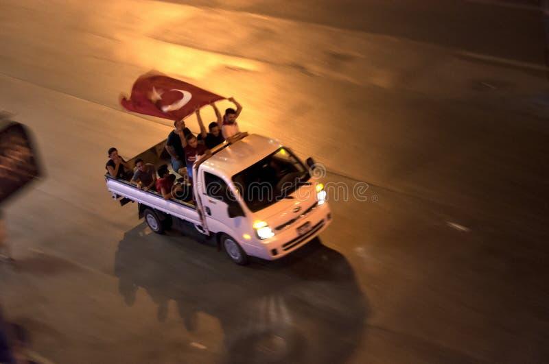 Protester i Turkiet, Istanbul royaltyfri foto