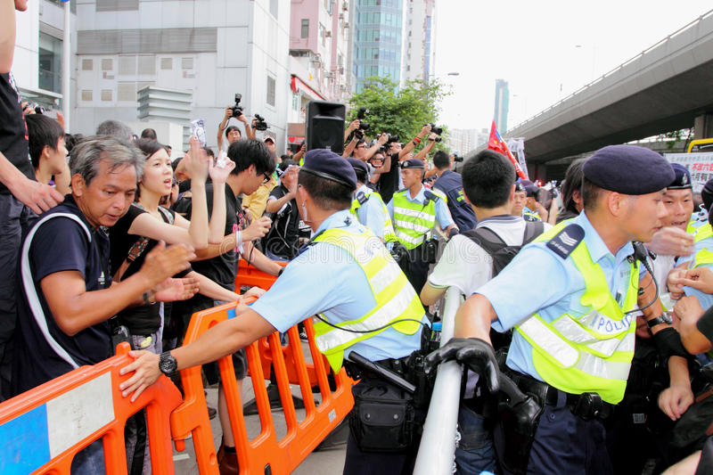 Protesters Demand Dissident Death Probe In H.K. Editorial Photo