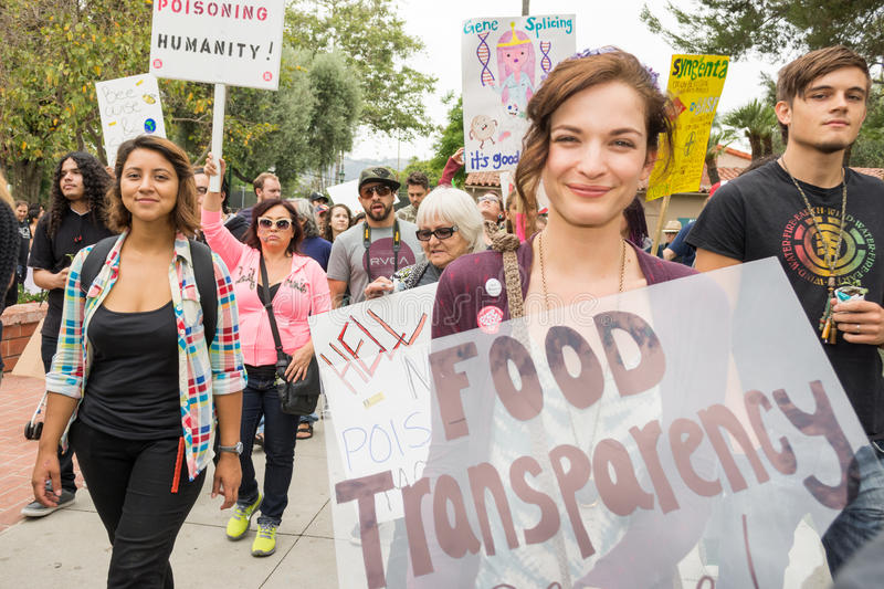 Download Protesters Rallied In The Streets Against The Monsanto Corporation. Editorial Photo - Image: 40955476
