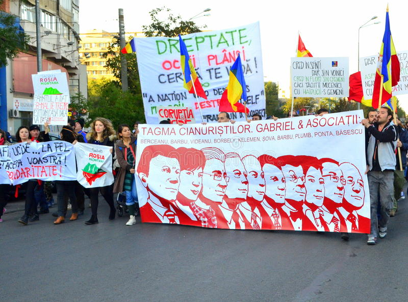 Download Protesting For Rosia Montana Editorial Photo - Image: 34195546