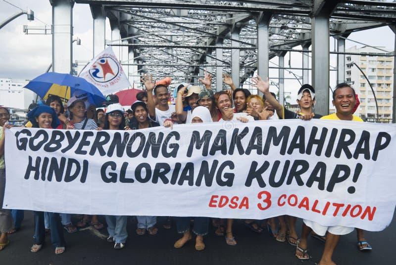 Protesto fotografia de stock
