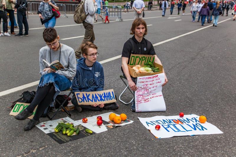 Protesto contra o planeamento urbanístico fotos de stock