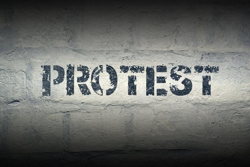 ProtestORD GR royaltyfria foton