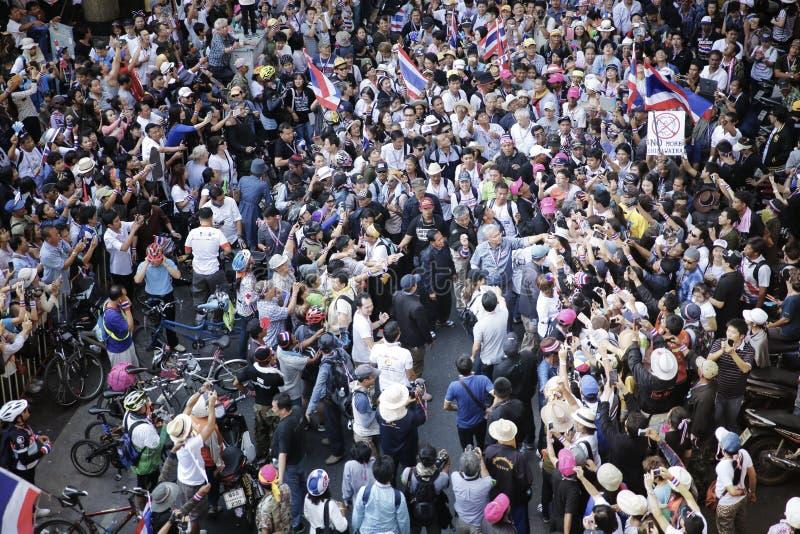 Protestors fotografía de archivo libre de regalías