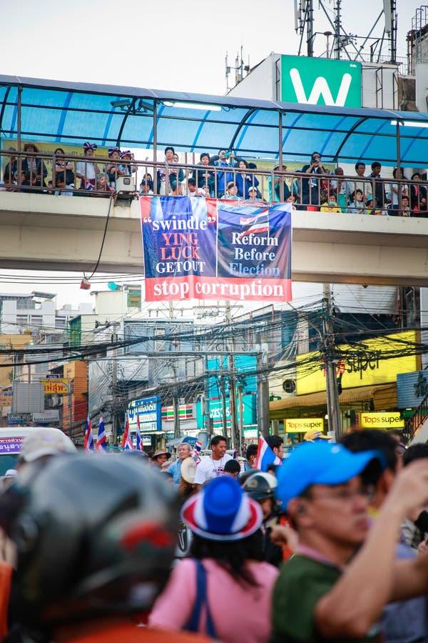 Protestors lizenzfreie stockbilder