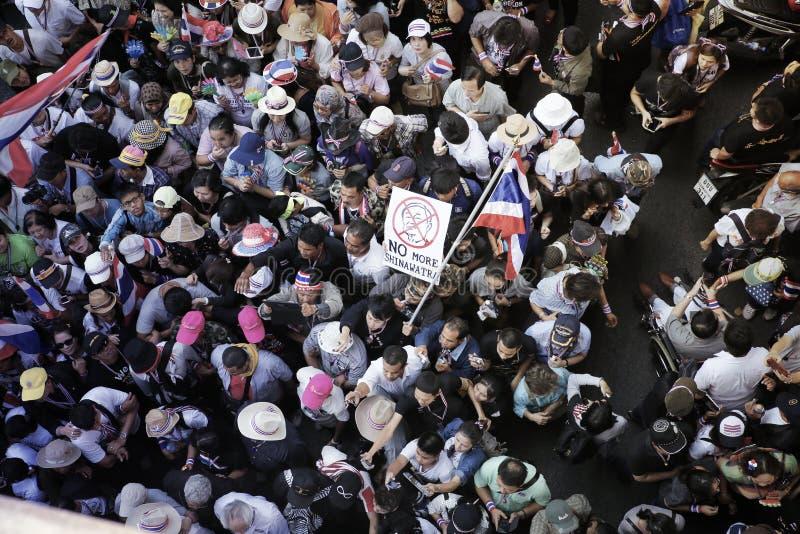 Protestors royalty-vrije stock foto's