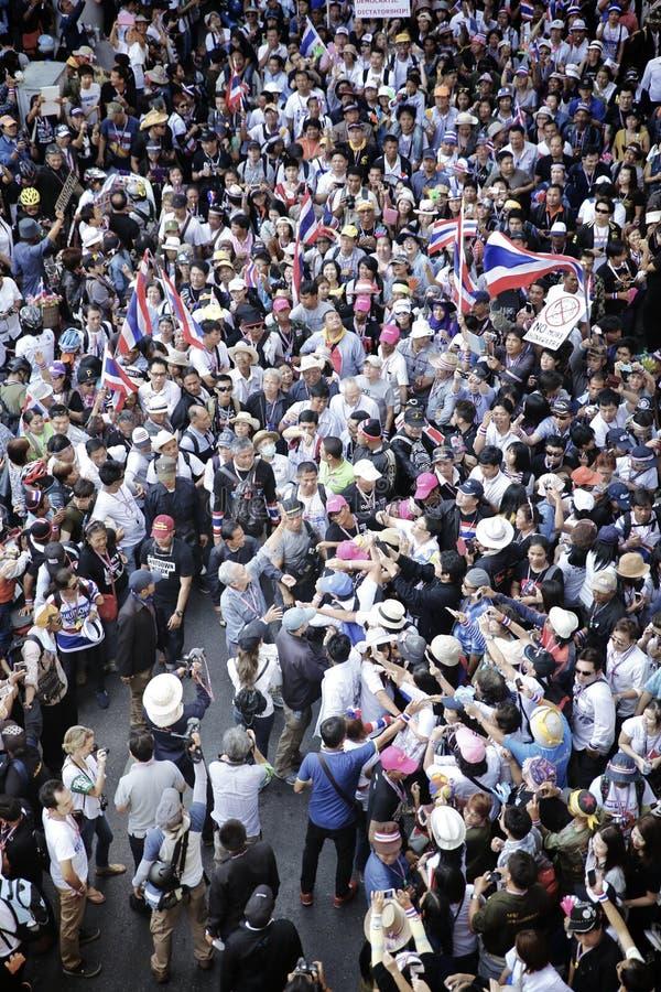 Protestors royalty-vrije stock afbeelding