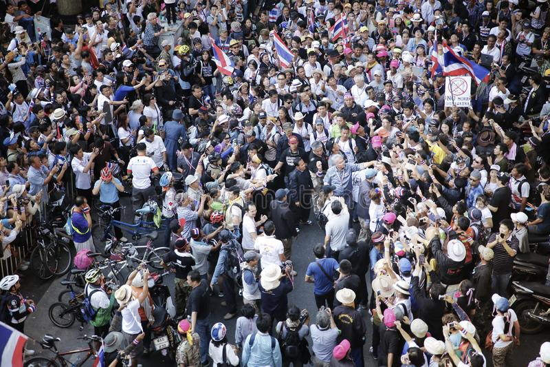 Protestors lizenzfreie stockfotografie