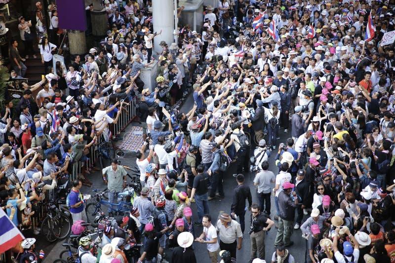 Protestors lizenzfreie stockfotos