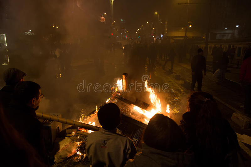 Download Protests in Turkey editorial stock photo. Image of erdogan - 39504788