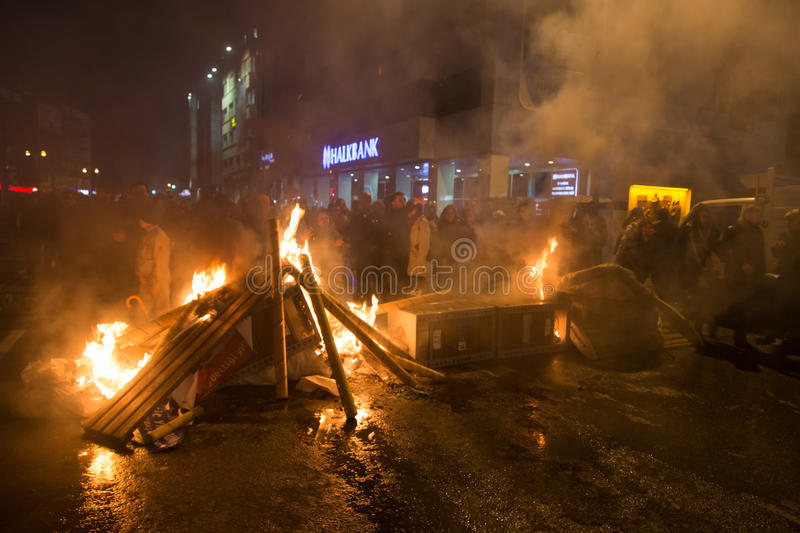 Download Protests in Turkey editorial photography. Image of politics - 39505472