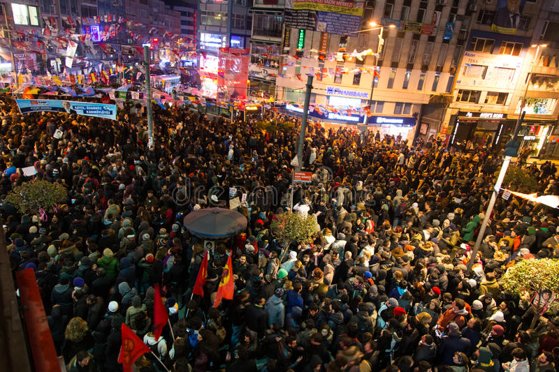 Download Protests in Turkey editorial image. Image of taksim, group - 39504710