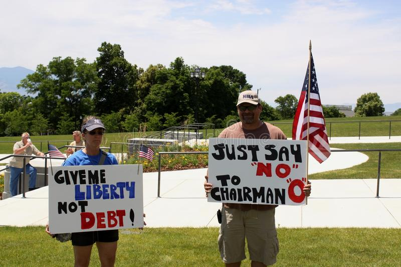 protesttecken royaltyfri foto