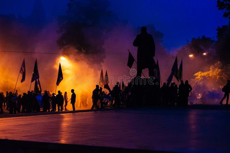 protesty fotografia stock