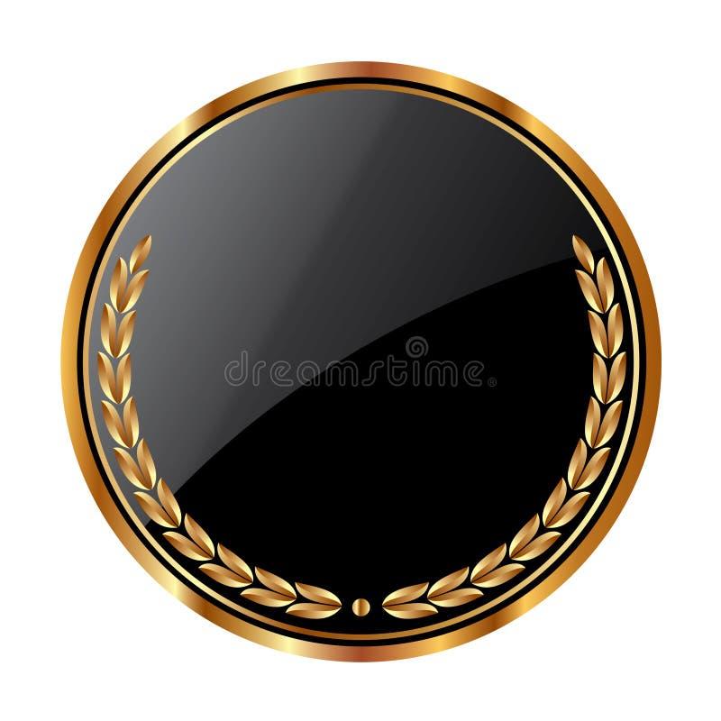 Protetor circular ilustração stock