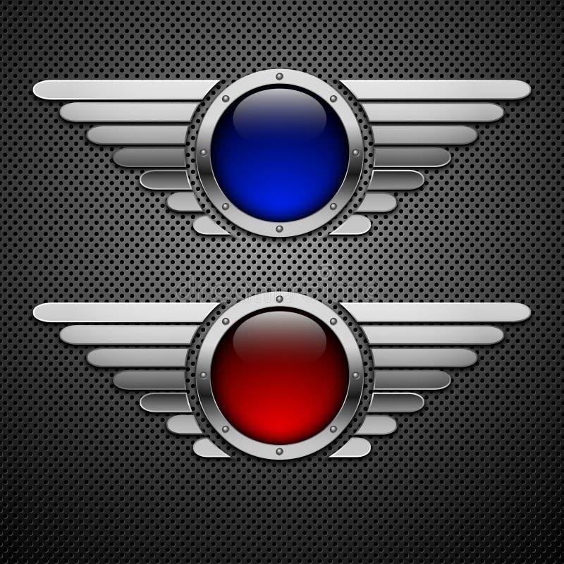 Protetor com asas. foto de stock royalty free