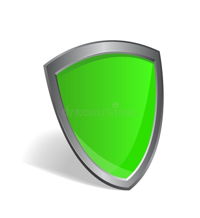 Protetor - conceito da segurança ilustração royalty free