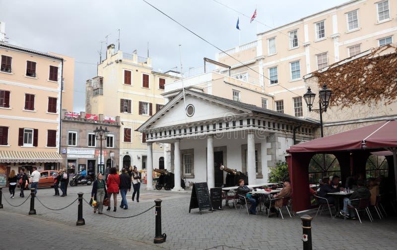 Protetor House do convento em Gibraltar fotos de stock