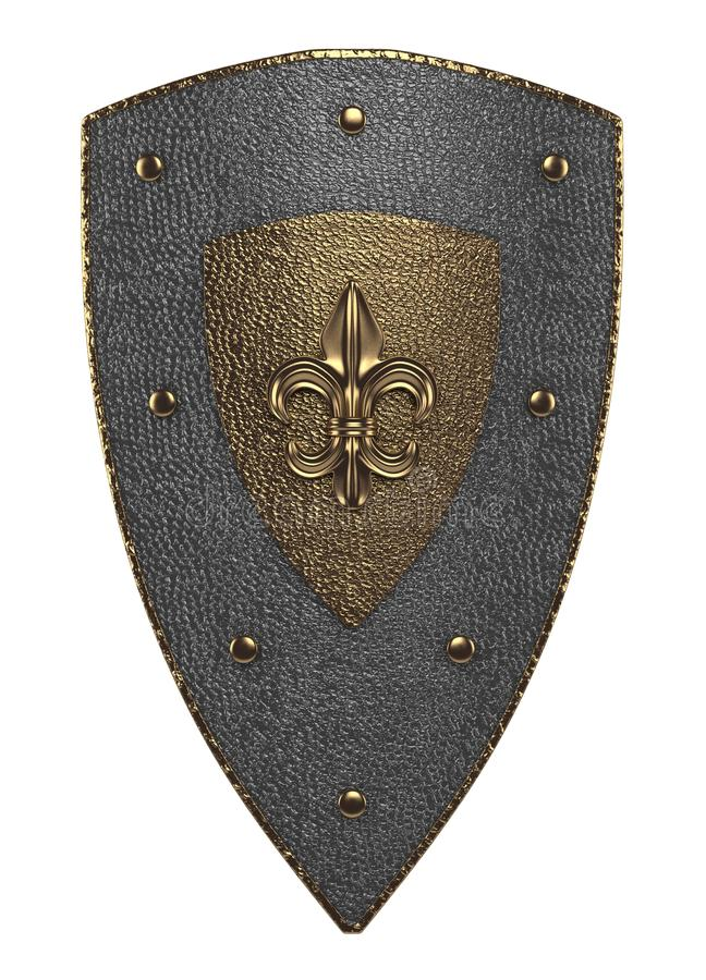 Protetor medieval fotografia de stock