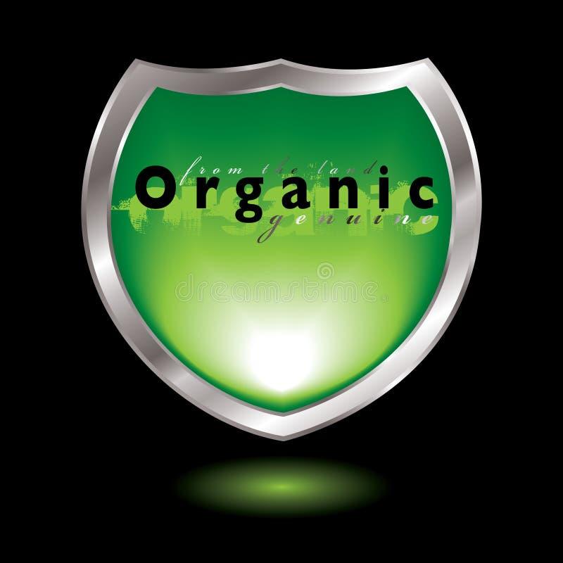 Protetor orgânico ilustração stock