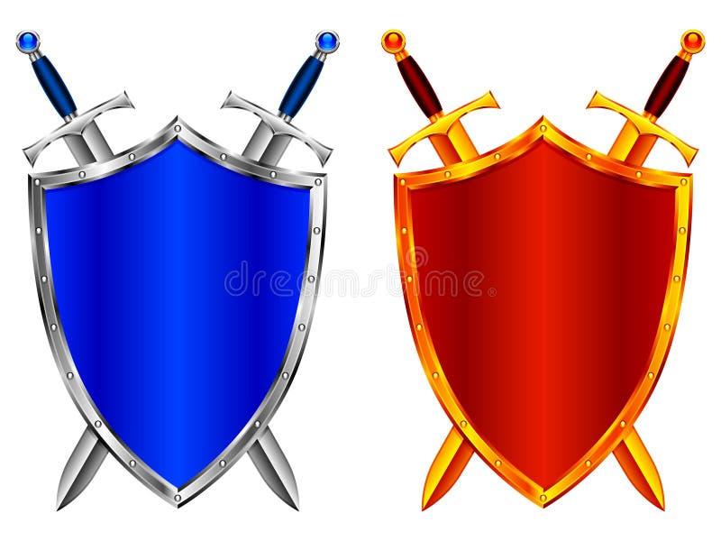 Protetores. ilustração royalty free