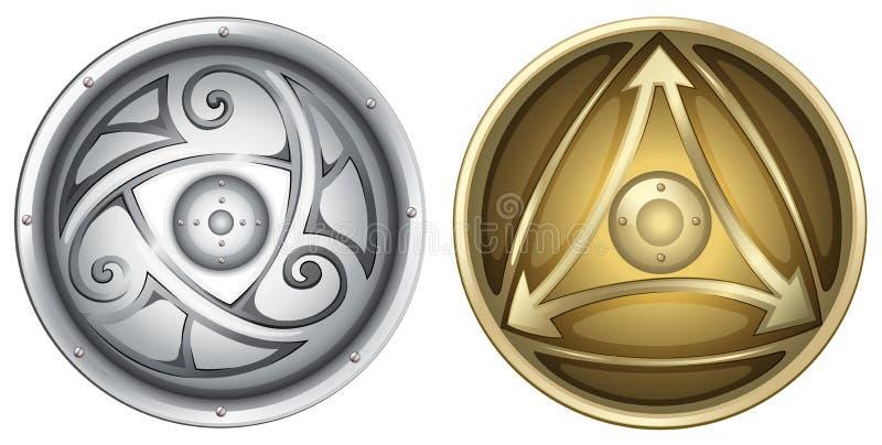 Protetores de Viking ilustração royalty free