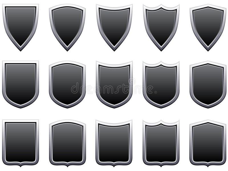 Protetores do metal ilustração stock