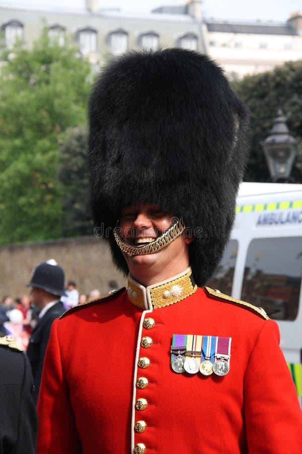Protezione alla cerimonia nuziale reale 2011 fotografie stock