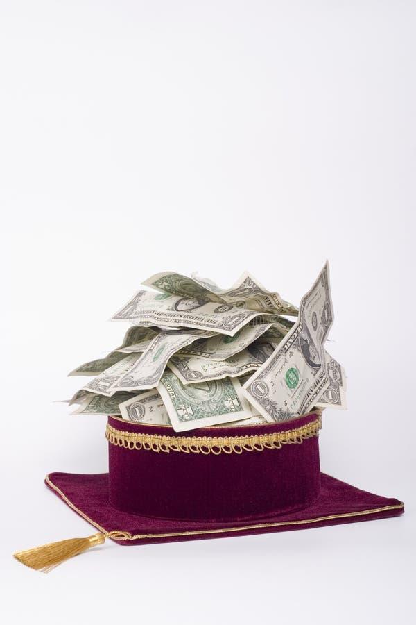 protezione con i dollari immagine stock libera da diritti