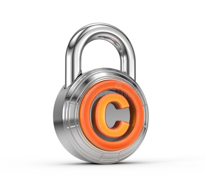 Protezione del copyright royalty illustrazione gratis