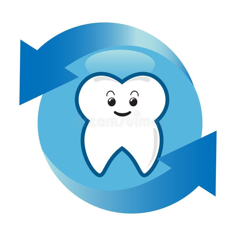Protezione del dente illustrazione vettoriale
