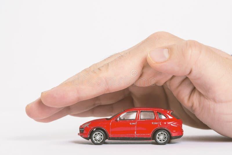 Protezione dell'automobile Concetto di affari immagini stock