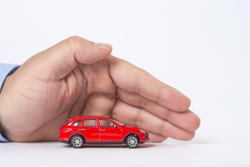 Protezione dell'automobile Concetto di affari immagine stock libera da diritti