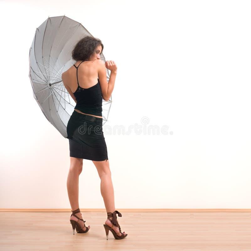 Protezione dell'ombrello immagini stock libere da diritti