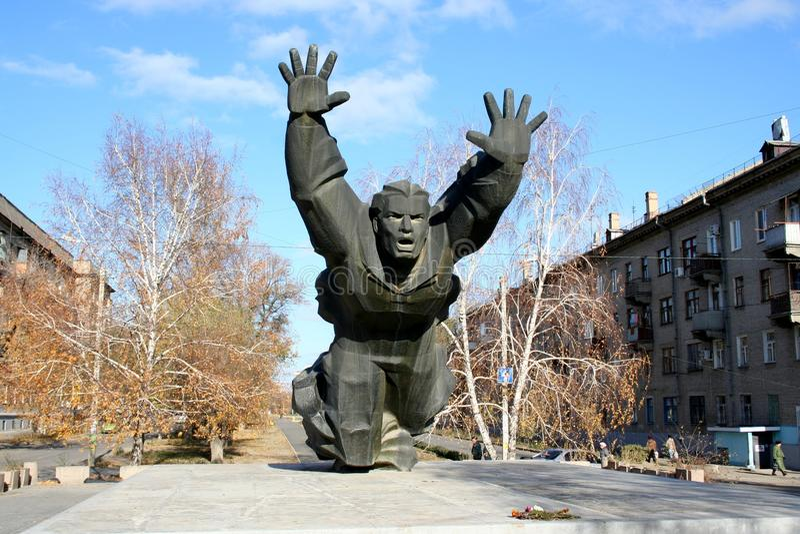 Protezione di Stalingrad fotografie stock libere da diritti