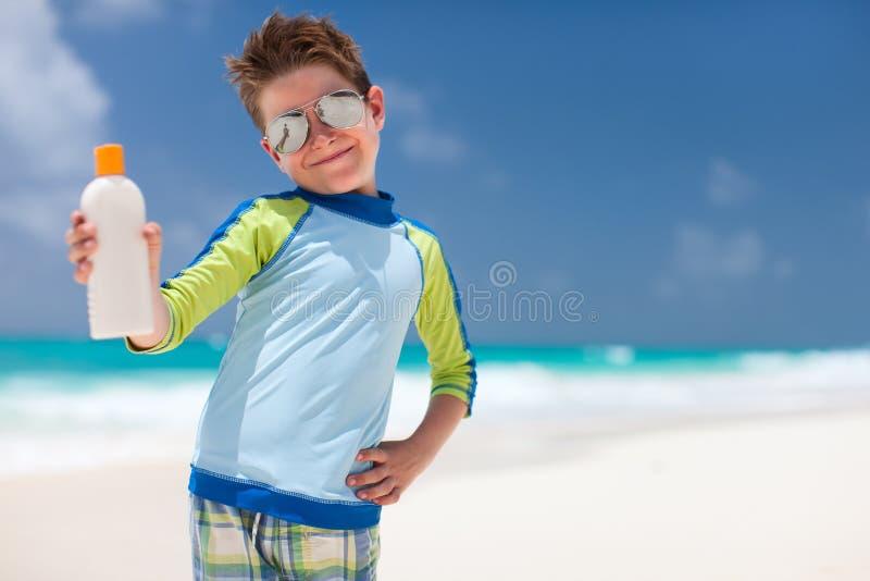 Protezione di Sun immagini stock libere da diritti