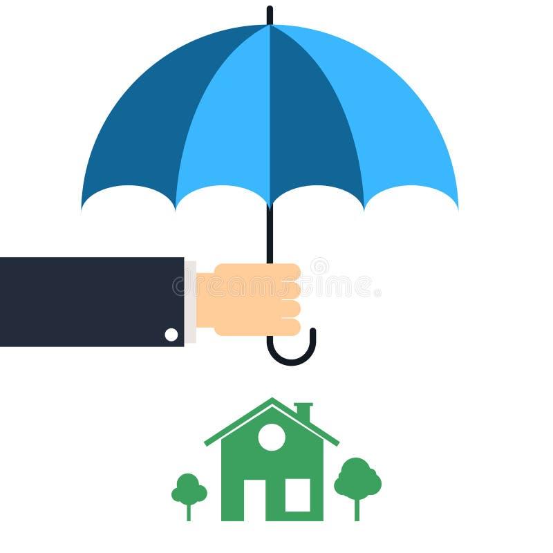 Protezione domestica illustrazione di stock