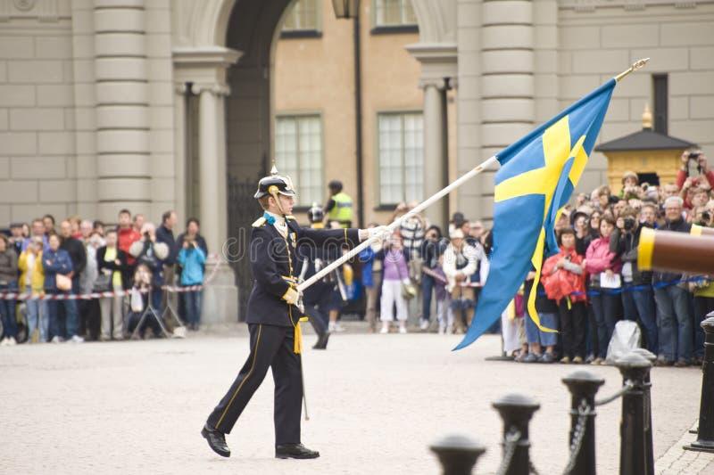 Protezione reale della Svezia fotografie stock