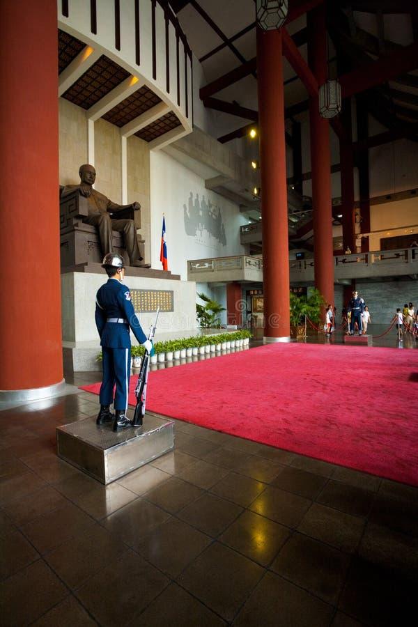 Protezioni del Sun Yat-sen all'interno fotografia stock
