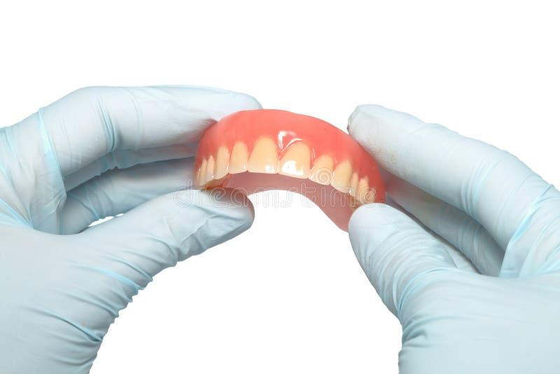 Prothèses de dent photos libres de droits