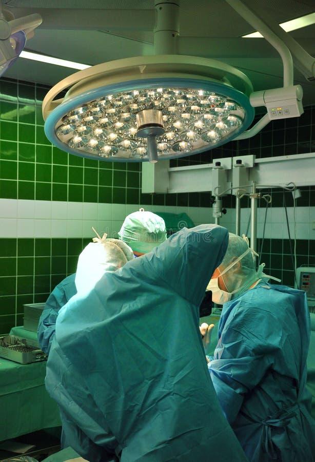 Prothese van de verrichting van het knieziekenhuis stock foto