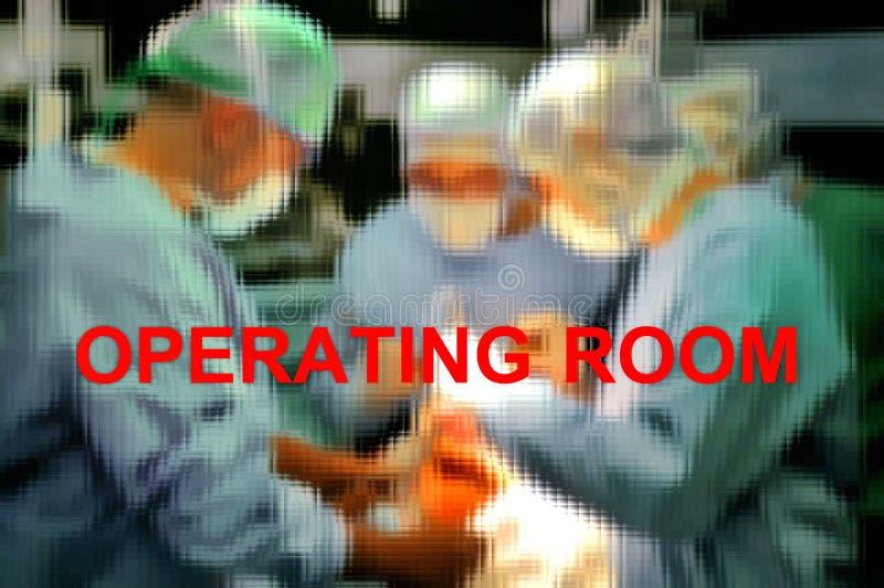 Prothese van de verrichting van het knieziekenhuis royalty-vrije stock foto's