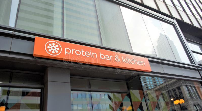 Protien Bar and Kitchen, Chicago, Illinois. Welcome to Protein Bar. We are conveniently located in Chicago, Washington, D.C, Denver and Boulder. Our service, our stock image