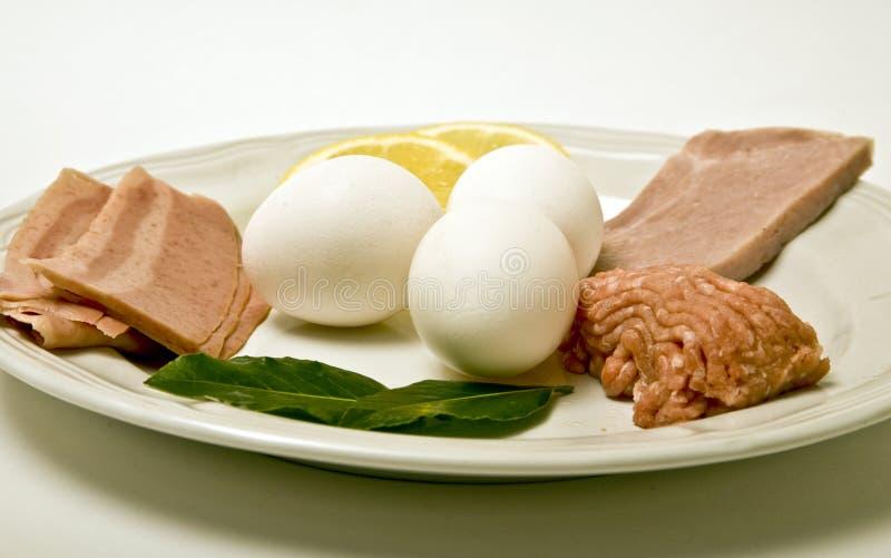 protiens śniadanie zdjęcie stock
