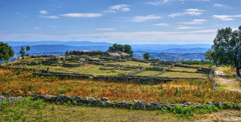 Download Proto-historic Settlement In Sanfins De Ferreira Stock Image - Image of monument, bricks: 95570429