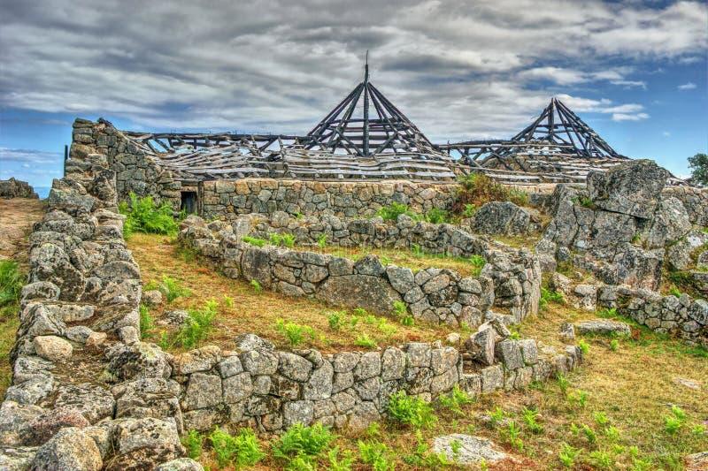 Download Proto-historic Settlement In Sanfins De Ferreira Stock Photo - Image of castro, civilization: 95570620