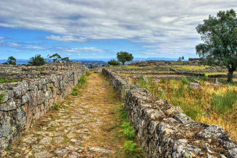 Download Proto-historic Settlement In Sanfins De Ferreira Stock Image - Image of north, ancestors: 95570625